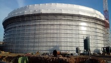 Đuro Đaković industrijska rješenj d.d. : AKZ work is underway on both tanks in Omišalj