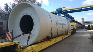 News : Delivery of two cement mills