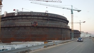 News : Construction of two crude oil tanks in full swing